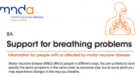 MND Association - Support for breathing problems