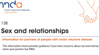 MND Association - Sex and relationships: for partners of people living with MND